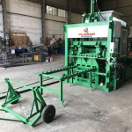 Machine a brique, pondeuse de brique, bordure, hourdis, presse a parpaing, paves